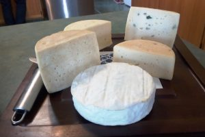 Homemade Cheese at Changing Seasons Bed and Breakfast in Nanton Alberta